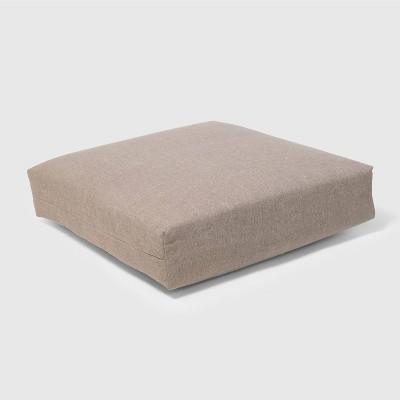 Outdoor Deep Seat Cushion Taupe - Threshold™