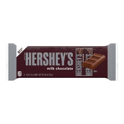 Hershey's Milk Chocolate Candy Bars - 3.6oz/8ct