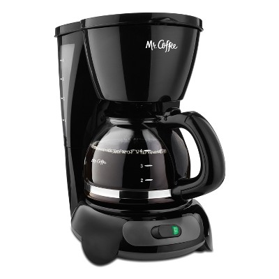 Mr. Coffee 4 Cup Switch Coffee Maker - Black