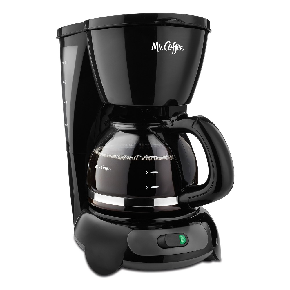 Mr. Coffee 4 Cup Switch Coffee Maker – Black 53658701