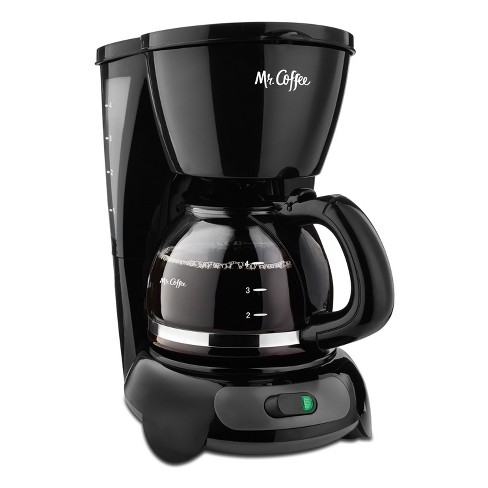 Mr. Coffee 4 Cup Switch Coffee Maker - Black - image 1 of 3