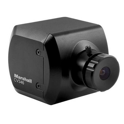 Marshall Electronics CV346 Compact Full HD Camera with CS/C Lens Mount, 1920x1080p at 60 fps, 3G/HD-SDI & HDMI Output - image 1 of 1