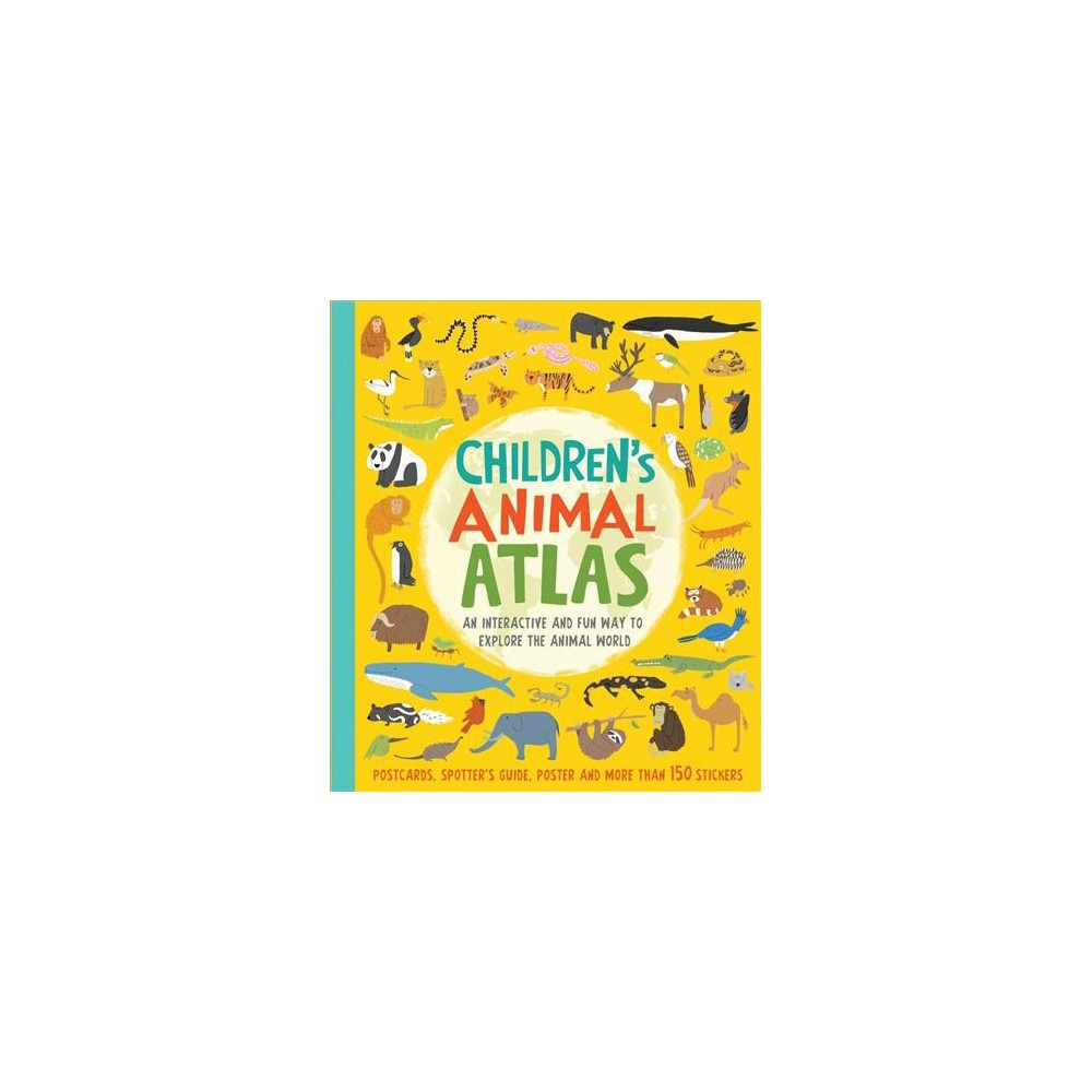 Children's Animal Atlas - Har/Acc by Barbara Taylor (Hardcover)