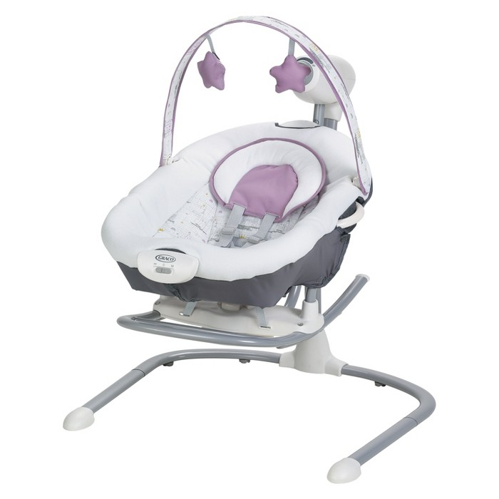 Graco Duet Sway Swing with Porable Rocker - Maxton - image 1 of 5