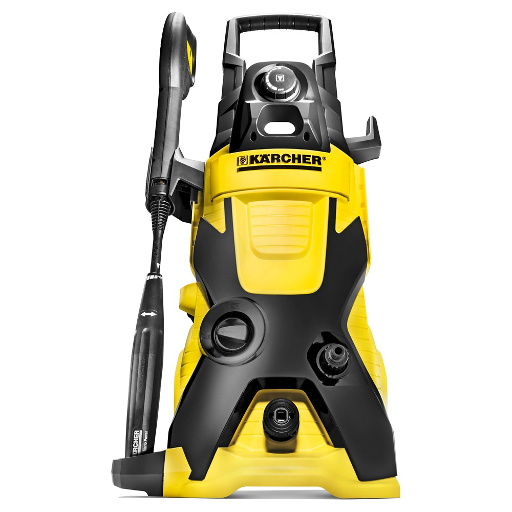 Image of 120 Volts, 1560 Watts K4 1900 Psi 1.5 Gpm Electric Power Pressure Washer - Yellow - Karcher