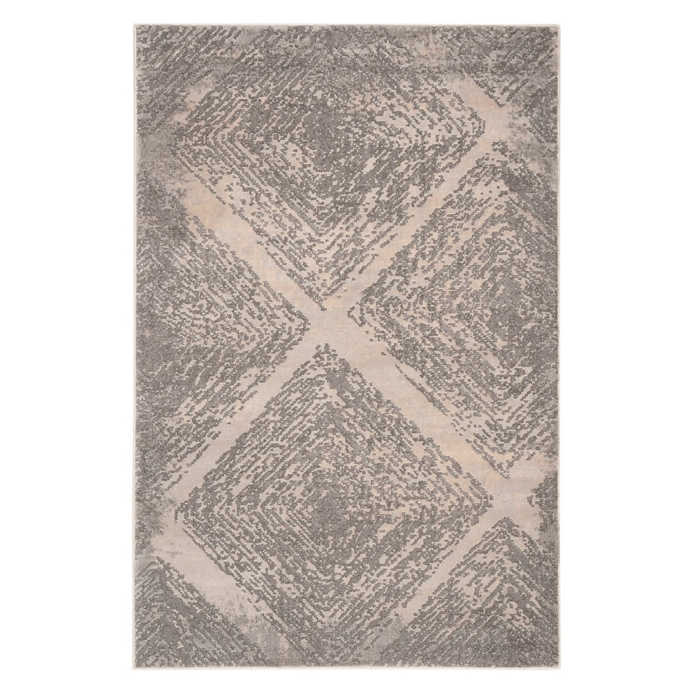 33X5 Shapes Accent Rug Taupe - Safavieh Promos