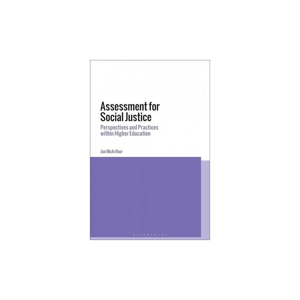 Assessment for Social Justice - by Jan McArthur (Paperback)