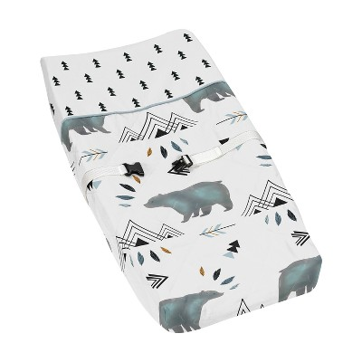 Sweet Jojo Designs Changing Pad Cover - Bear Mountain
