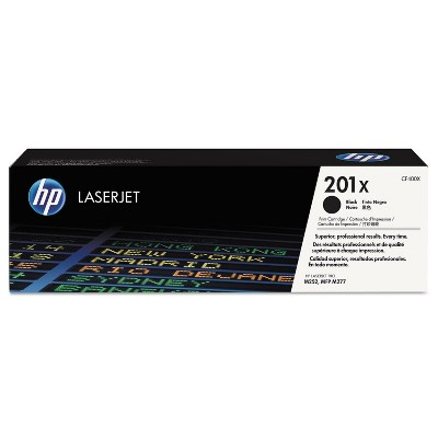 HP Inc. HP 201X (CF400X) High Yield Black Original LaserJet Toner Cartridge