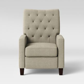 Felton Pushback Recliner Taupe - Threshold™