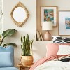 """18"""" x 24"""" Rattan Wrapped Wall Mirror - Opalhouse™ designed with Jungalow™ - image 2 of 4"""