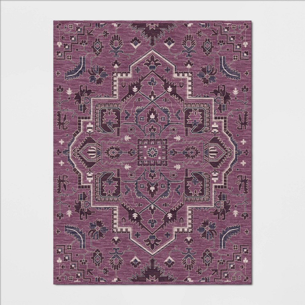 9'X12' Hyssop Jacquard Tufted Area Rug Purple - Opalhouse was $529.99 now $264.99 (50.0% off)