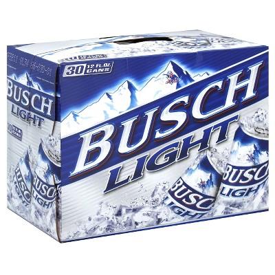 Busch® Light - 30pk / 12 fl oz Cans