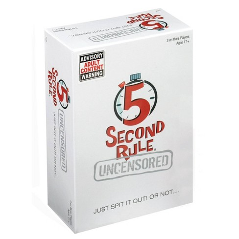 5 Second Rule Uncensored Board Game - image 1 of 4