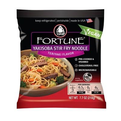 Fortune Yakisoba Teriyaki Stir Fry Noodles - 7.7oz