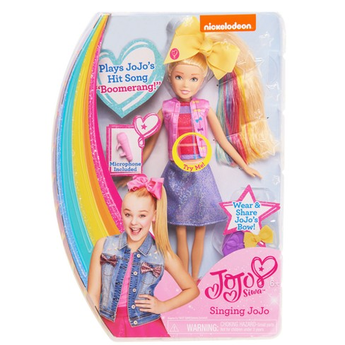 Nickelodeon JoJo Siwa Singing Doll   Target fc641e2d9
