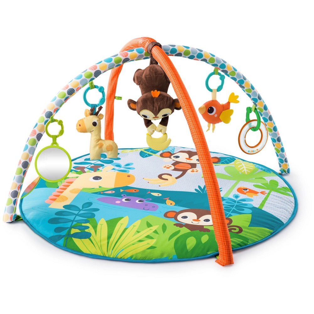 Image of Bright Starts Monkey Activity Gym