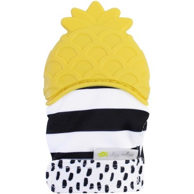 Itzy Ritzy Teething Mitt Pineapple - Yellow