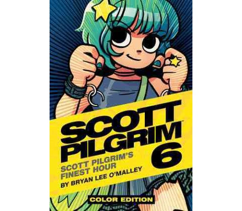 Scott Pilgrim 6 : In His Finest Hour (Hardcover) (Bryan Lee O'Malley) - image 1 of 1