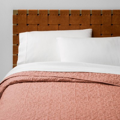 Full/Queen Garment Washed Quilt Blush - Opalhouse™