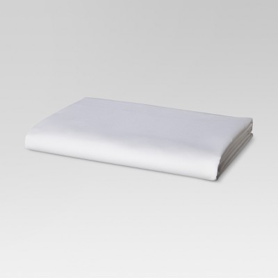 Ultra Soft Fitted Sheet (Queen)White 300 Thread Count - Threshold™