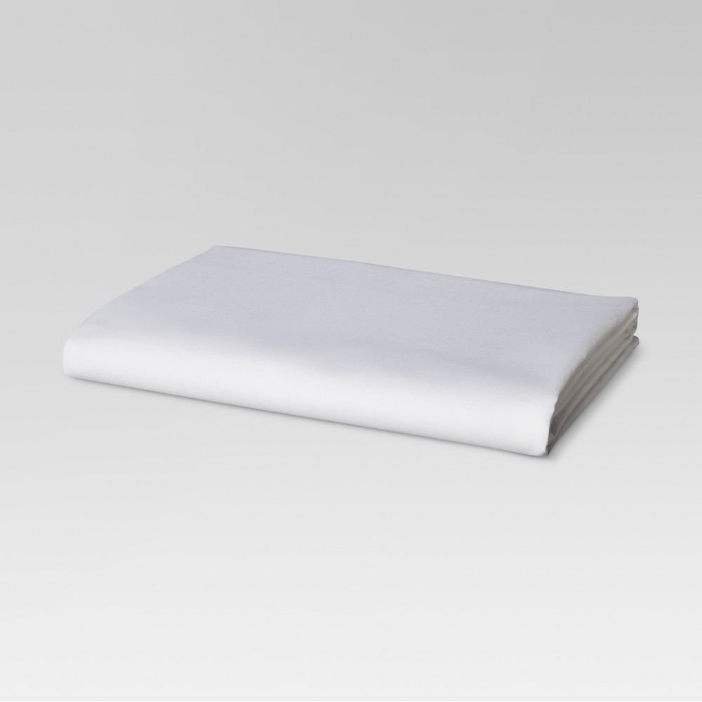 Image of California King 300 Thread Count Ultra Soft Fitted Sheet White - Threshold