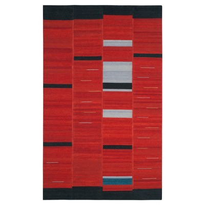 Kilim Rug - Red - (4'x6') - Safavieh