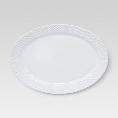 All Over Bead Serving Platter - Medium - Threshold™