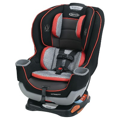 Graco® Baby Extend2Fit Convertible Car Seat - Solar