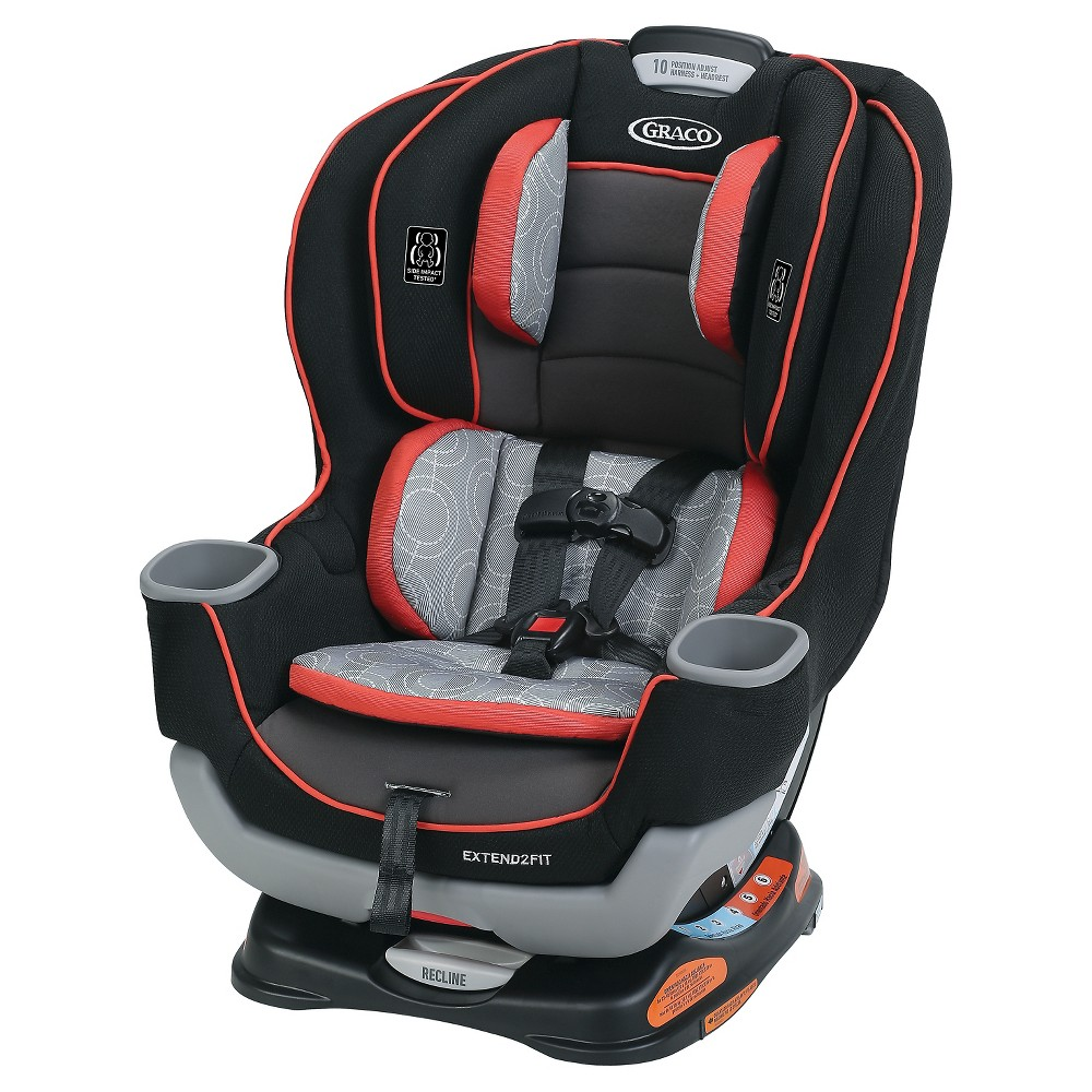 Graco Baby Extend2Fit Convertible Car Seat - Solar
