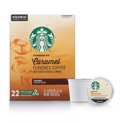 Starbucks Caramel Light Roast Coffee - Keurig K-Cup Pods - 22ct