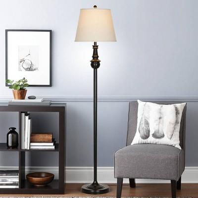 Floor Lamp Black (Lamp Only)- Cresswell Lighting