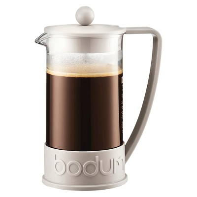 Bodum 8 Cup French Press Coffee Maker - White