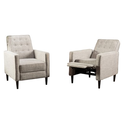 Set of 2 Mervynn Mid-Century Recliner - Christopher Knight Home