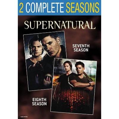 Supernatural: Seasons 7 & 8 (DVD)