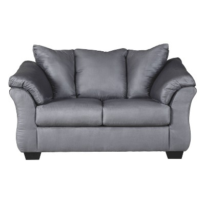 Darcy Loveseat Steel - Signature Design by Ashley