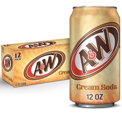 A&W Cream Soda - 12pk/12 fl oz Cans