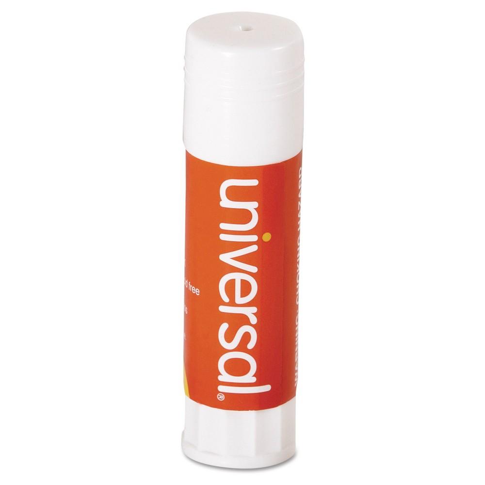 Universal Glue Stick Medium 12ct - Clear