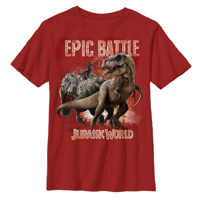 Boy's Jurassic World Epic Battle T-Shirt