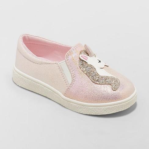 Toddler Girls' Macia Unicorn Sneakers - Cat & Jack™ Pink - image 1 of 3