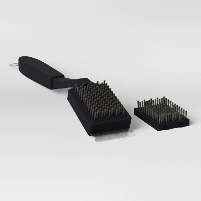 Tough Grill Brush Black - Room Essentials™