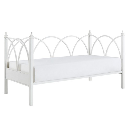 Armell Arched Metal Daybed Twin Antique White - Inspire Q - image 1 of 8