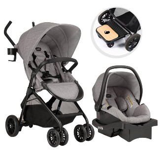 Evenflo Sibby Travel System - Mineral Gray