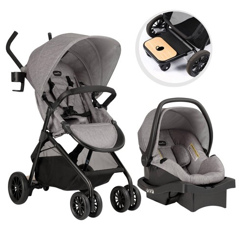 Evenflo Sibby Travel System - Mineral Gray - image 1 of 4