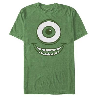 Men's Monsters Inc Mike Wazowski Eye T-Shirt