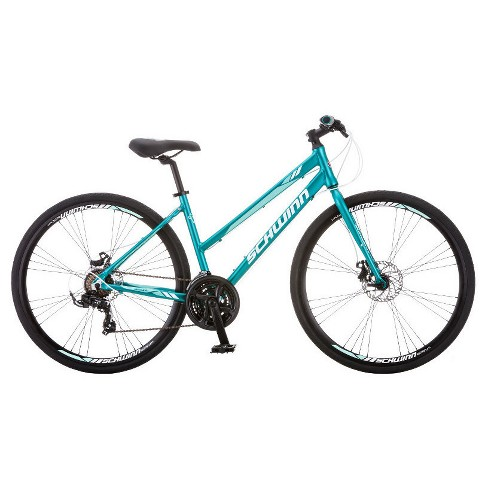 "Schwinn Women's Circuit 700c/28"" Hybrid Bike with Disc Brake - Teal Blue - image 1 of 4"