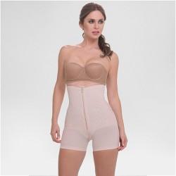 d5c5b2e57 Annette Women s Faja Extra Firm Control High Waist Boyshorts With Front  Zipper