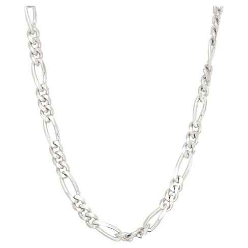 Tiara Sterling Silver Figaro Chain Necklace - image 1 of 1