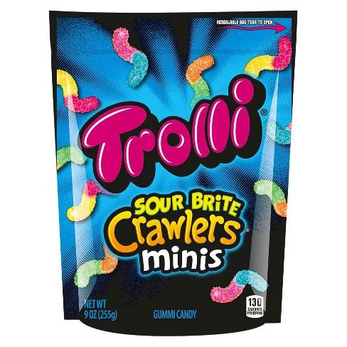 8e745c37c76 Trolli Sour Brite Crawlers Minis Gummi Candy - 9oz   Target