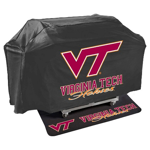 NCAA® Virginia Tech Hokies Mr. Bar-B-Q Grill Cover and Grill Mat Set - image 1 of 2